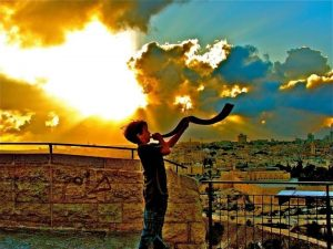 Playing the Shofar